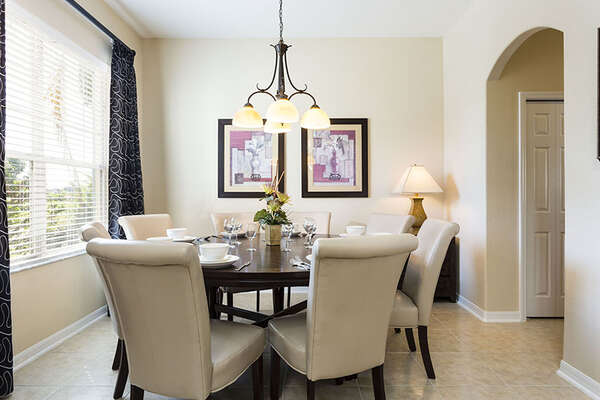 Dining nook for 8