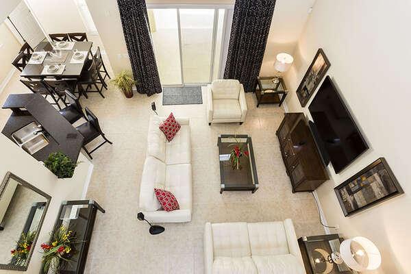 Enjoy your spacious open living space