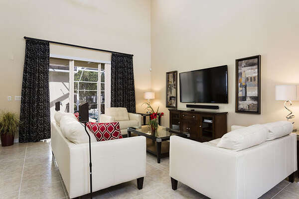 Watch TV in your own open living area