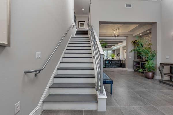 More luxury awaits upstairs