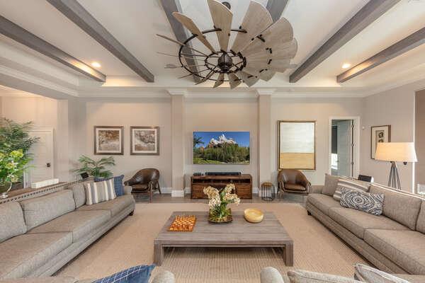 Lavish open living area