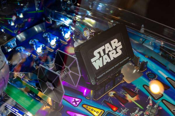 Star Wars pinball system