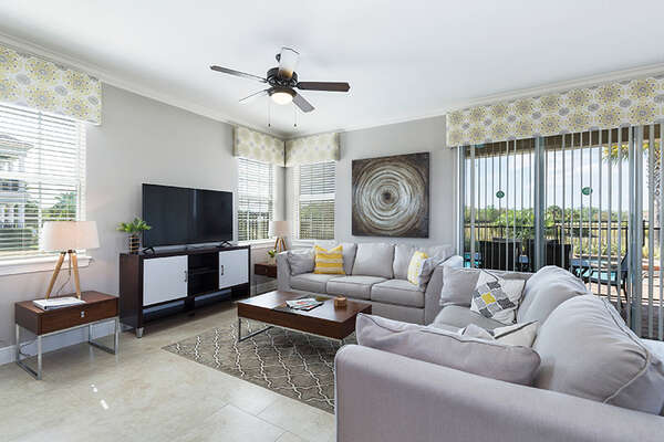 Head inside to luxury with open living space