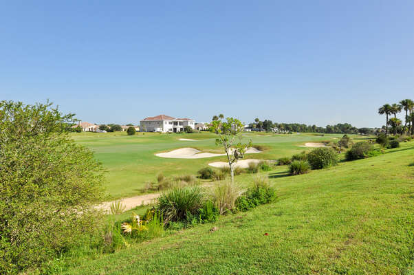 Amazing location on the golf course