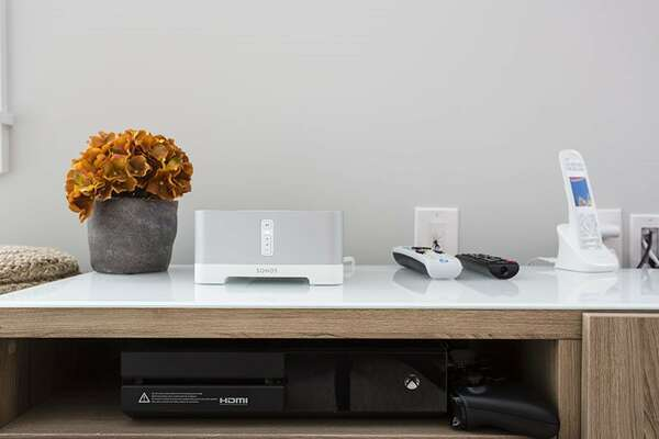 Play Xbox or listen to music with the Sonos sound system