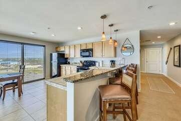 Kitchen/Hallway view