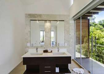 Bathroom with double sink