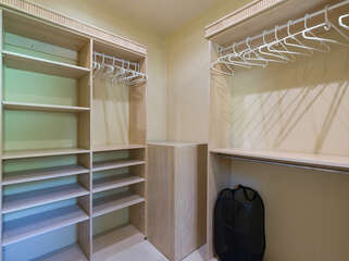 Unpack like a Pro with our super spacious closets