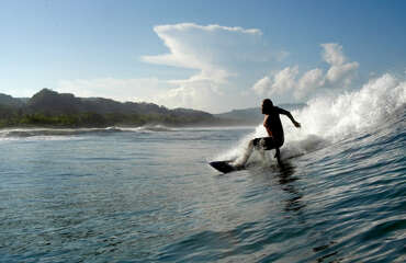 Ask for local surf lessons