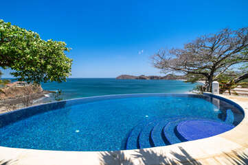 Enjoy the view from the pool