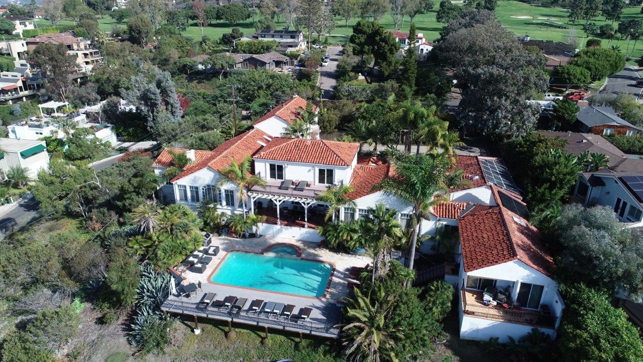 Rancho Santa Fe Style Home with Unobstructed  Ocean Views over La Jolla