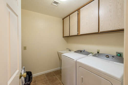 Laundry Room with a Full Size Washer/Dryer