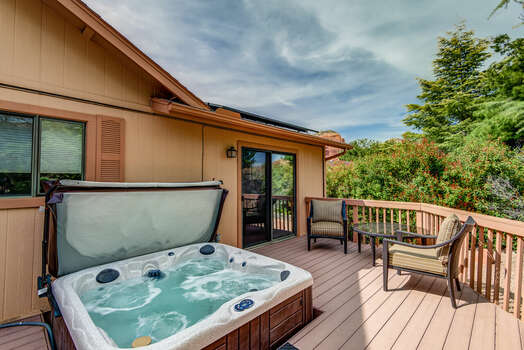 Soothing Hot Tub
