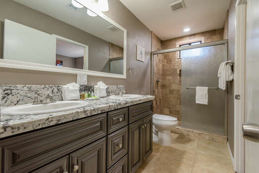 Master Bath 2 with a Soaking Tub and Separate Shower