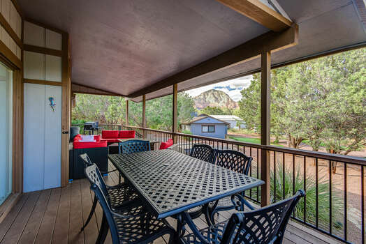Deck Dining Seating for 6