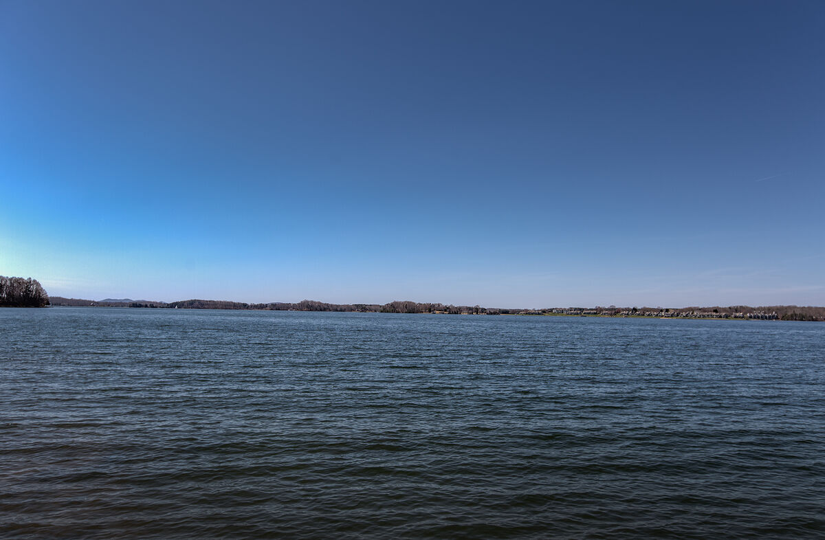 Wide View Over the Lake at Ancora Point