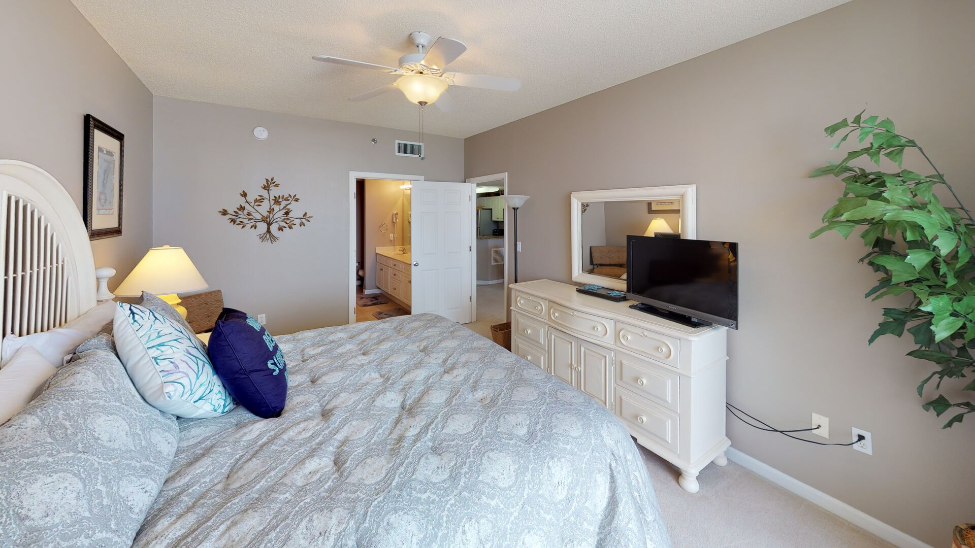 Ample Space in the Master Suite