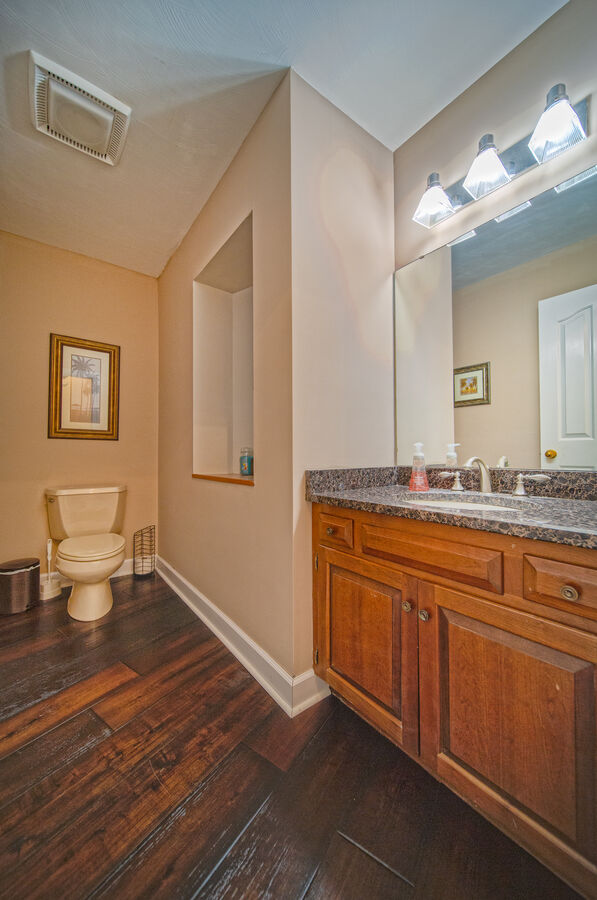 Spacious Bathroom in our Ancora Point Rental, Main Level