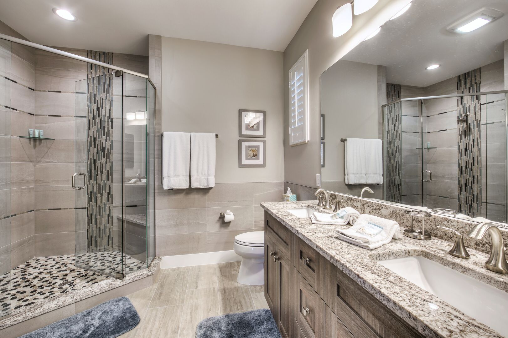 Master Bathroom with Walk-in Shower at Tidewater