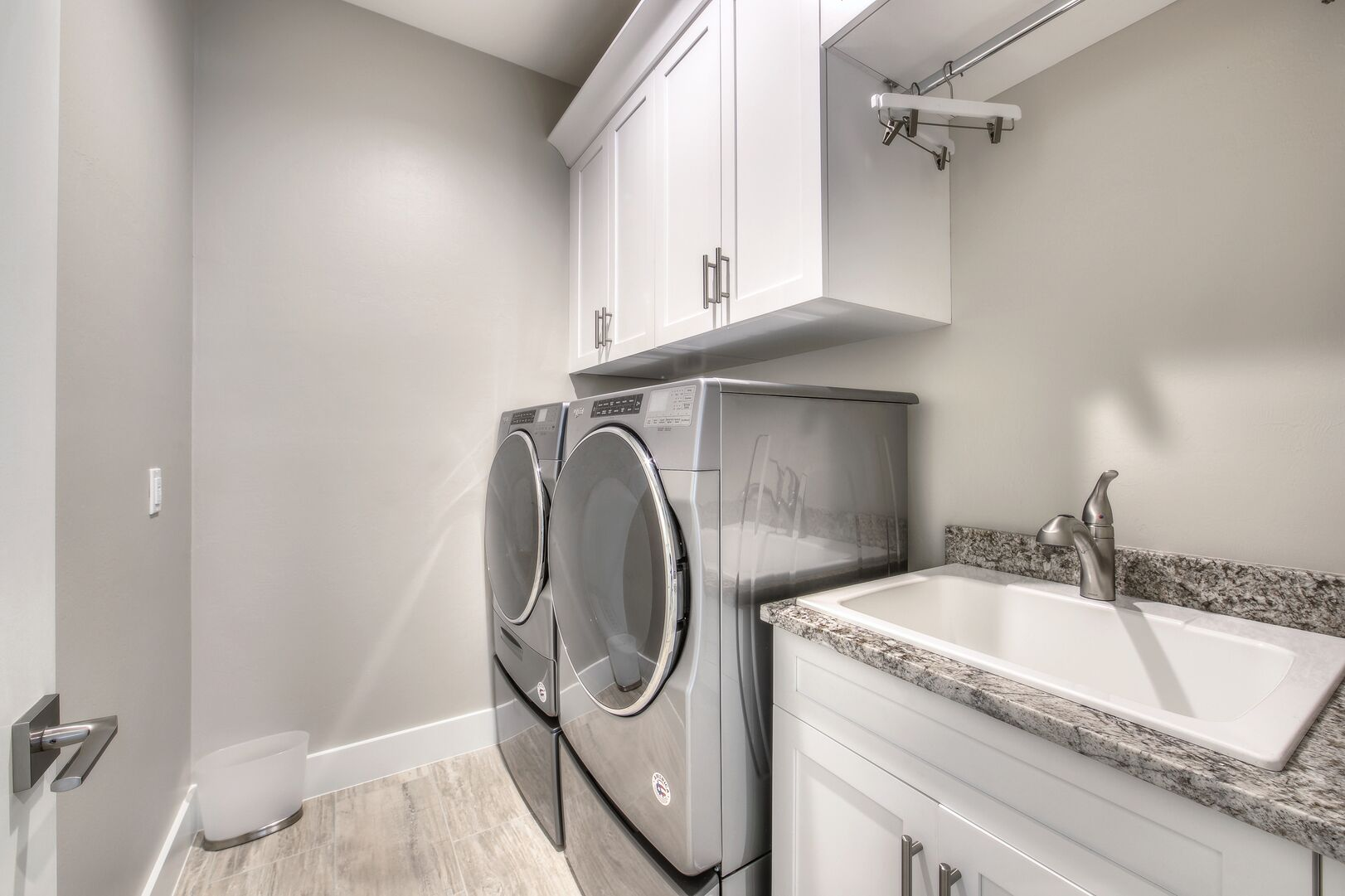 Laundry Room at Vacation Home Rental In Fort Myers Beach Florida