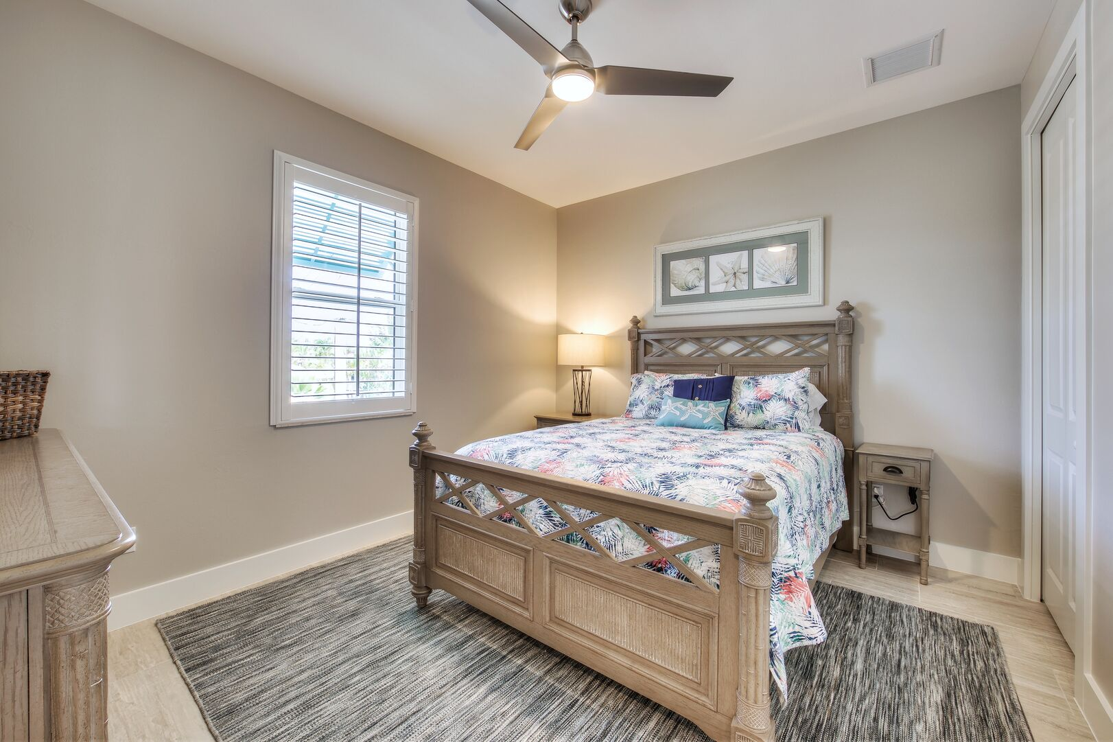Bedroom at Vacation Home Rental In Fort Myers Beach Florida