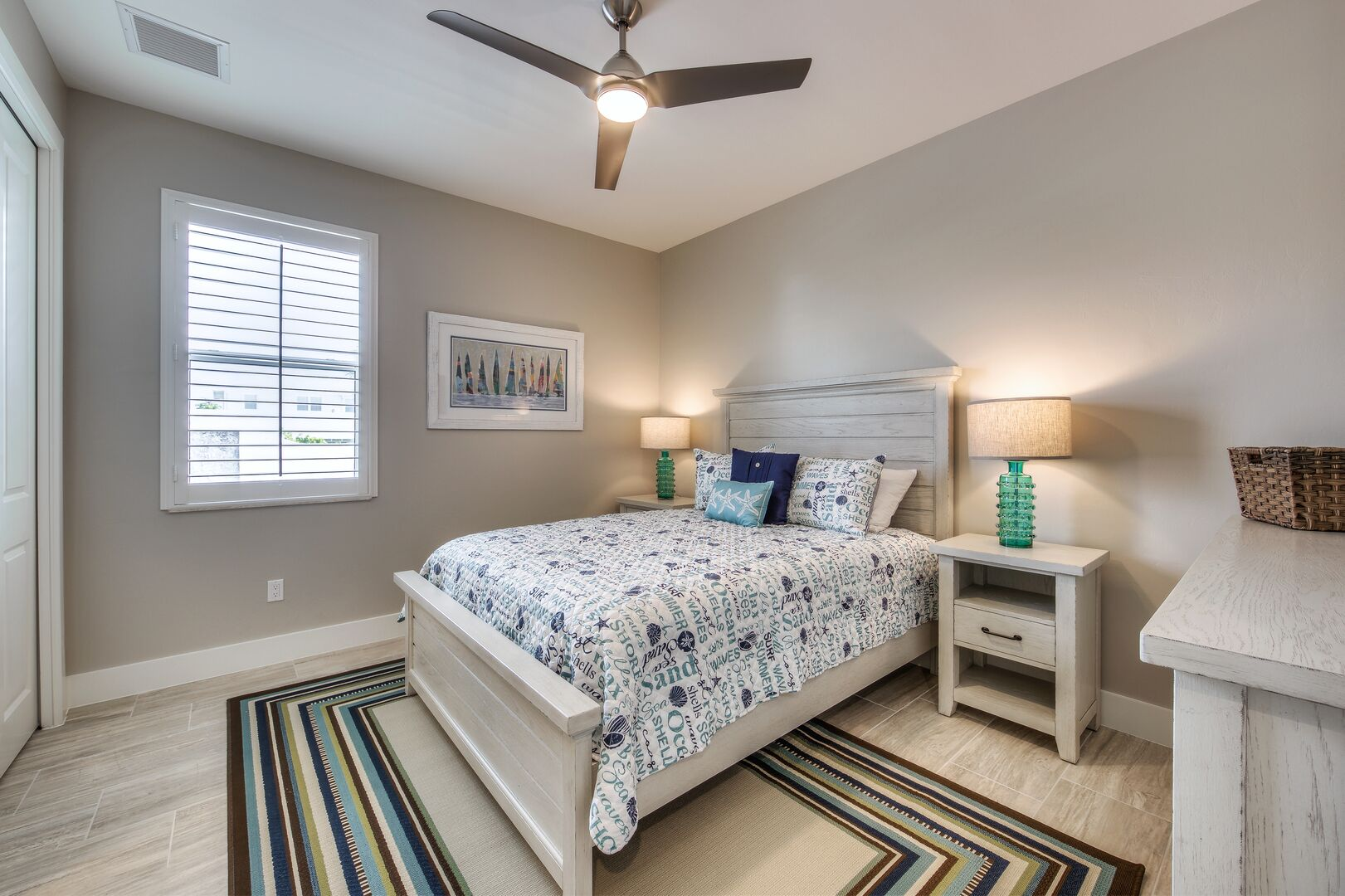 Third Bedroom at Vacation Home Rental In Fort Myers Beach Florida
