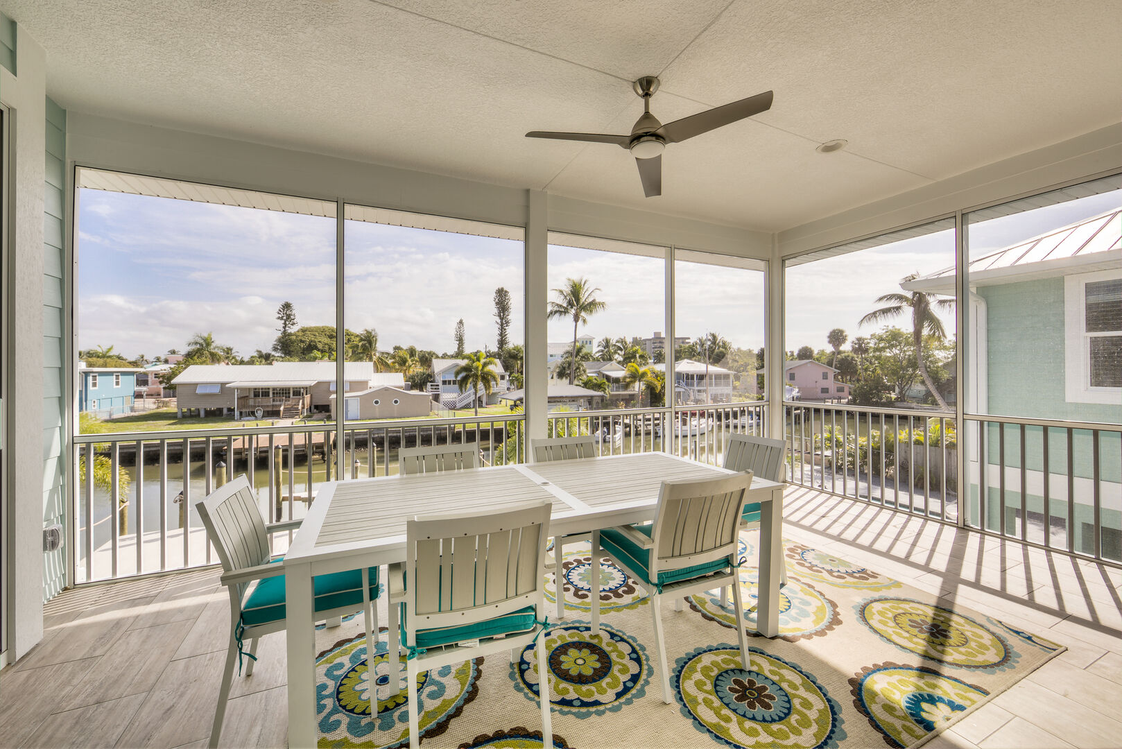 Outdoor Covered Patio at Tidewater