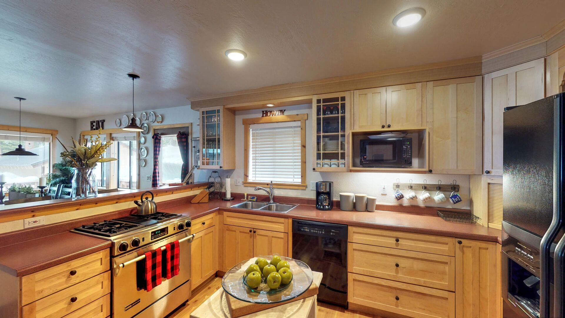 Kitchen Features Plenty of Counter Space