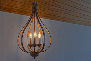 Fancy Chandelier in Ancora Point Rental Home