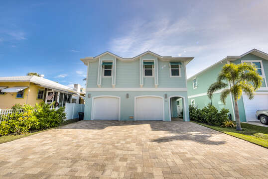 Exterior of Vacation Home Rental In Fort Myers Beach Florida