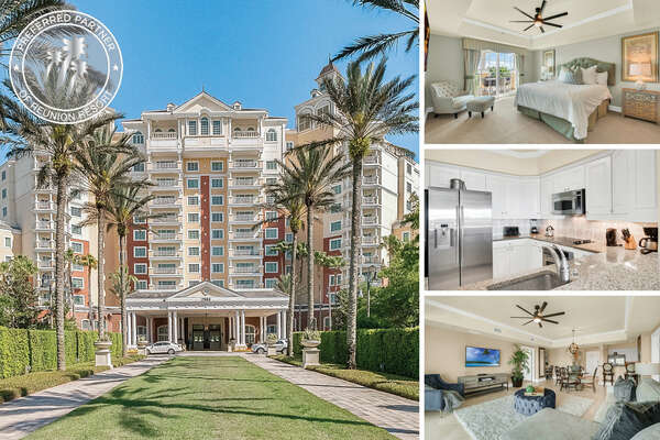 Welcome to Be Our Guest Tower, a luxurious 2 bed 2 bath condo | PHOTOS TAKEN: April 2019