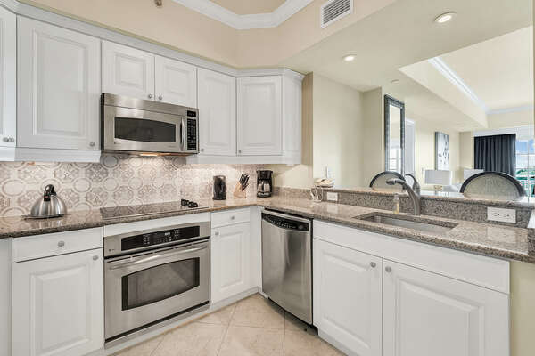 Large kitchen to cook delicious meals together