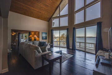 Watch The Sunset From the Living Area