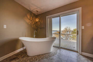 Your Private Tub Views Over the Lake