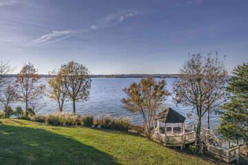 Wide Water Views and Lawn