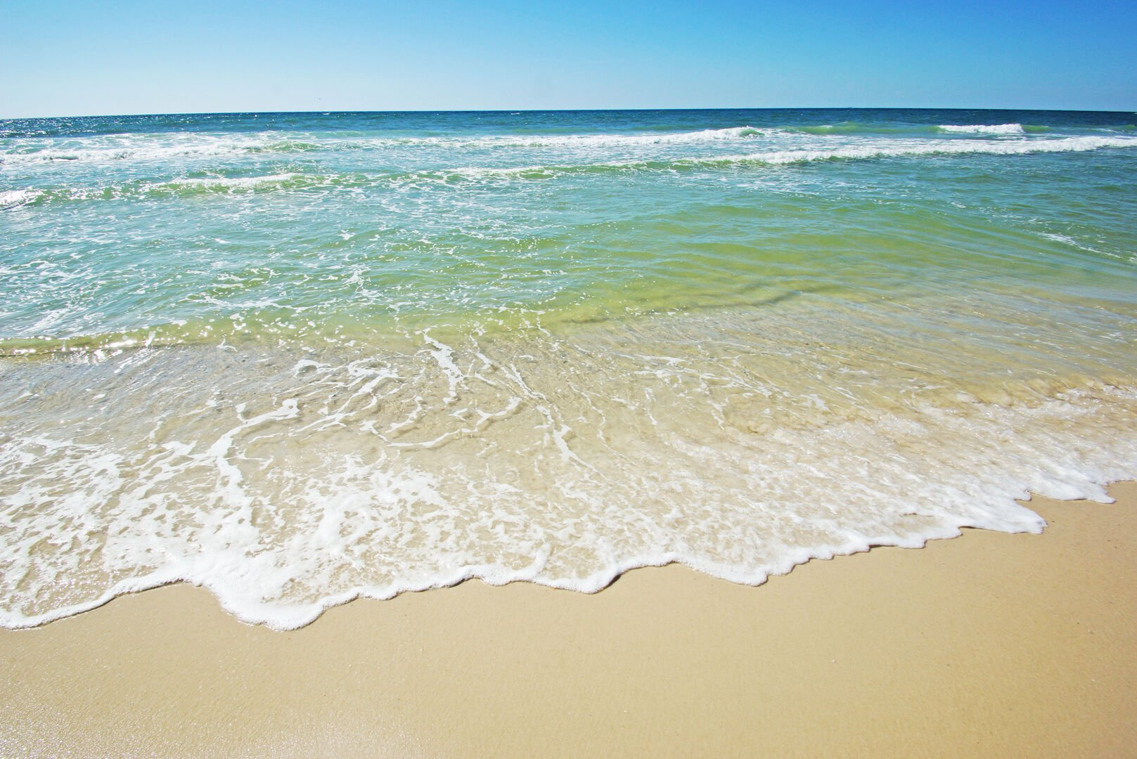 Waves on Beach Shore