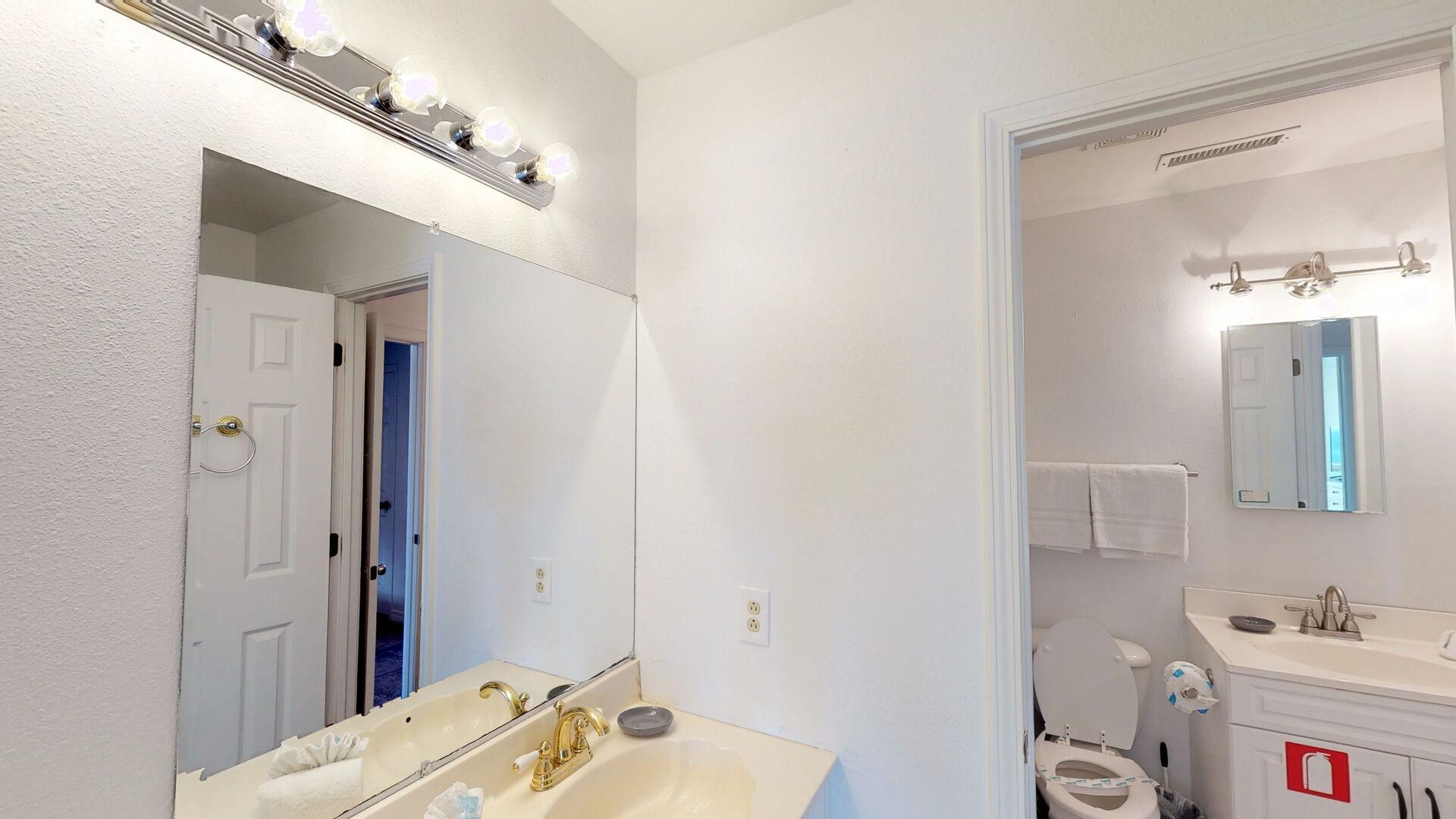 Vanity in Jack and Jill Bathroom