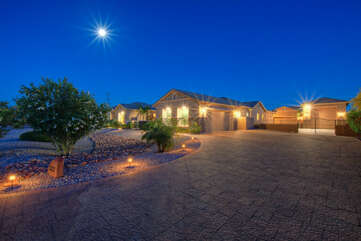 Exquisite home with extraordinary amenities awaits your arrival