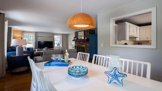 No one feels left out in open concept living - 790 Queen Anne Road Harwich- Cape Cod New England Vacation Rentals
