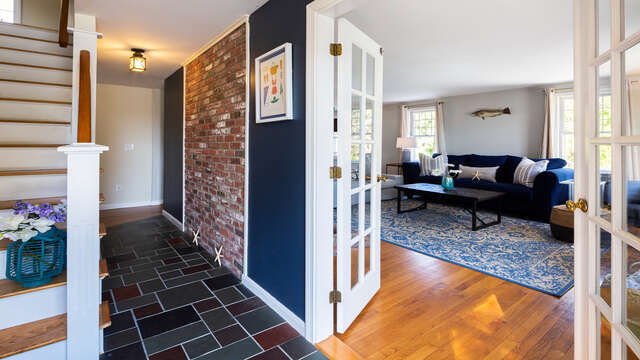 Hallway to Upper Level - 790 Queen Anne Road Harwich- Cape Cod New England Vacation Rentals
