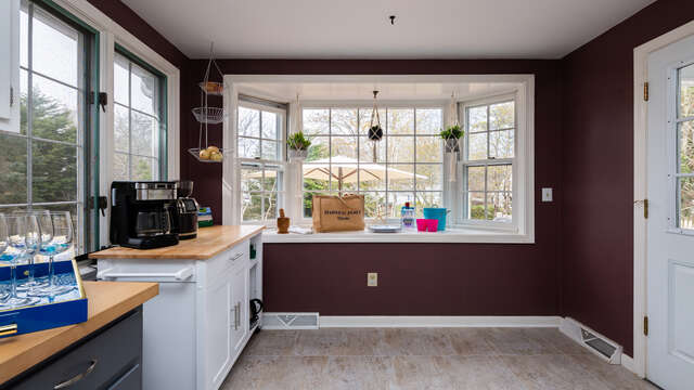 Bright kitchen area - 790 Queen Anne Road Harwich- Cape Cod New England Vacation Rentals