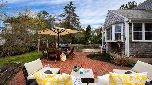 Fun backyard entertaining - 790 Queen Anne Road Harwich- Cape Cod New England Vacation Rentals