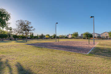 Light sand volley ball, horseshoes, playgrounds and an exercise course are just a few of the things to enjoy at the Alta Mesa Park