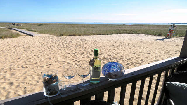 Located right on the beach! 945 Commercial St Provincetown Cape Cod New England Vacation Rentals