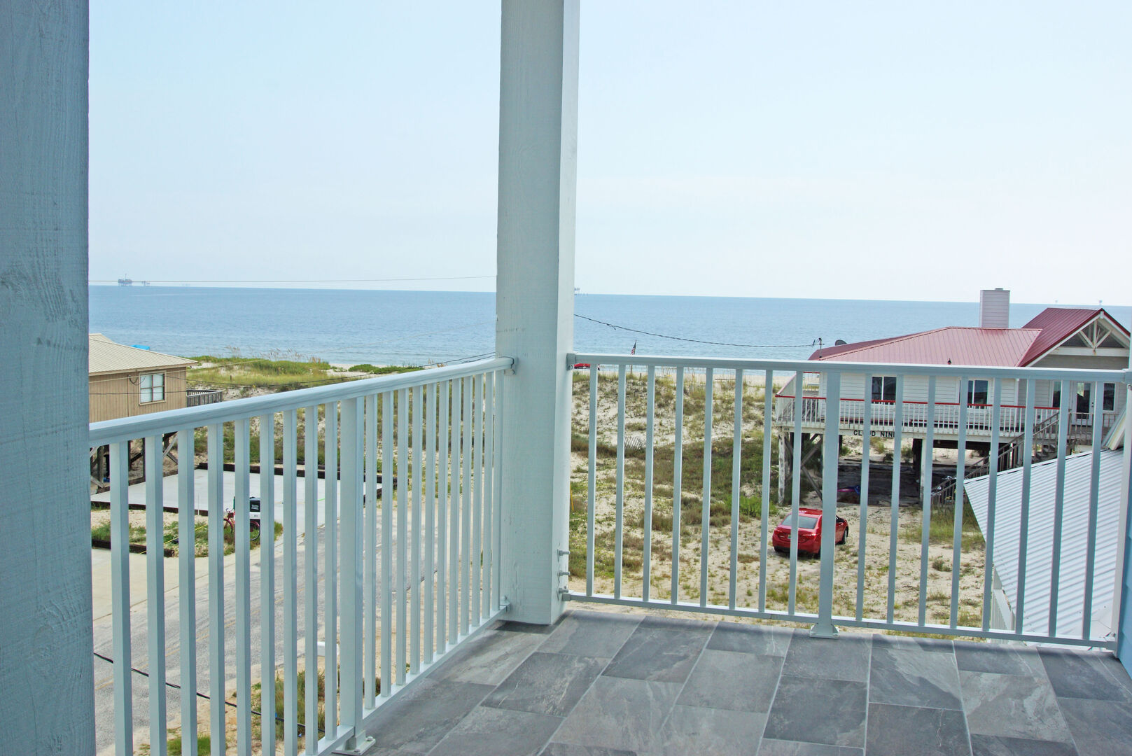 Enjoy gulf views from one of the 4 decks of this Vacation Home in Gulf Shores.