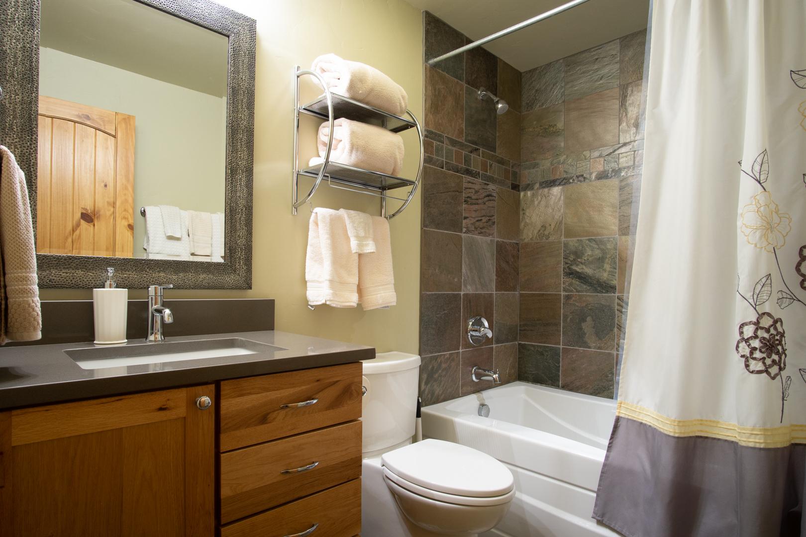 Downstair bathroom.