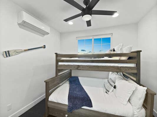 Bunk Room, Full/Twin Bunk + Twin Trundle - Third Floor
