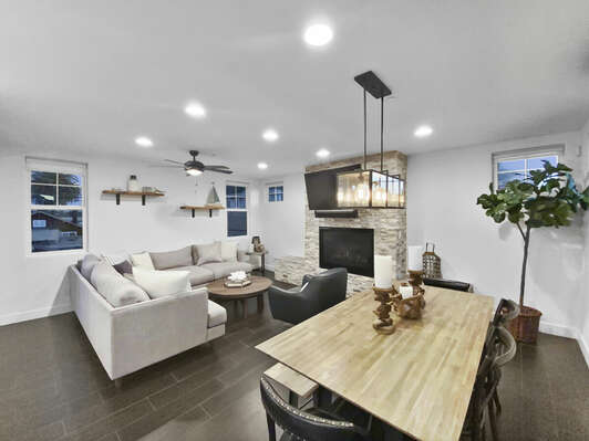 Living & Dining - Second Floor