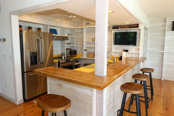 Cute and open kitchen