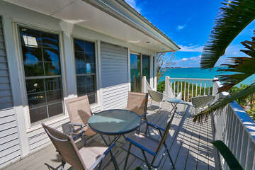 Open deck with great views